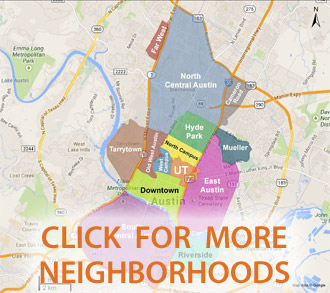 View UT Austin Neighborhoods
